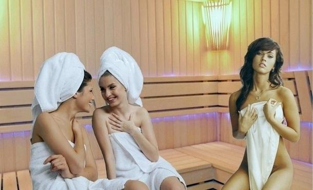 Фото девушек с корпоративов из бани и сауны фото 257-77